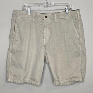 Men's Lucky Brand Khaki Shorts Size 36
